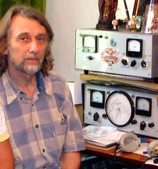 RK3F.  Коллекция трансиверов и других самодельных устройств радиолюбителей в музее растет, сохраняя память о...